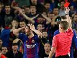 Серхи Роберто дисквалифицирован на четыре матча за удар Марсело