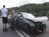 Богуш попал в аварию