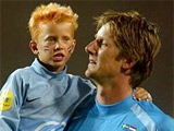 11-летний сын Ван дер Сара подписал контракт с «МЮ»