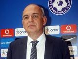 Главе Федерации футбола Греции прислали письмо с угрозами и пулей