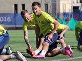 ФОТОрепортаж: тренировка сборной Украины в Экс-ан-Провансе (50 фото)