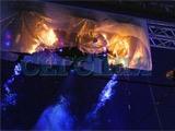 Во время церемонии открытия «Олимпийского» произошел пожар