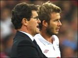 Капелло: «Бекхэм не войдёт в тренерский штаб сборной Англии»