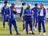 До 14 июня «Динамо» будет тренироваться на стадионе имени В.Лобановского