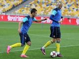 ФОТОрепортаж: открытая тренировка сборной Украины на НСК «Олимпийский» (38 фото)