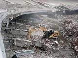 Строители «Мараканы» возобновили работу