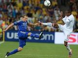 Англия — Украина: стартовые составы команд