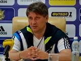 Сергей КОВАЛЕЦ: «В матчах с Исландией и Францией хотим взять шесть очков»