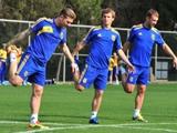 У сборной Украины сегодня — первый рабочий день