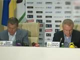 Официально. Блохин подписал контракт с ФФУ до лета 2014 года