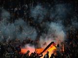 Фанаты «Зенита» сожгли флаг Германии матче Лиги чемпионов с «Боруссией»