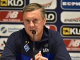 «Динамо» — «Шахтер» — 1:0. Послематчевая пресс-конференция