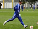 Александр Рыбка тренируется с основным составом «Динамо»