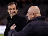 Галлиани и Аллегри могут быть уволены из «Милана»