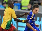 Сборная Украины сыграла в Киеве вничью со сборной Камеруна