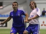 Перед матчем в Харькове студенты провели спарринг в манеже «Динамо»