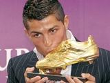 Криштиану Роналду — обладатель «Золотой бутсы-2011»