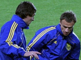 ФОТОрепортаж: тренировка сборной Украины в Праге (22 фото)