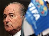 Блаттер обещает продолжить бороться с коррупцией, договорными матчами и допингом