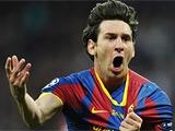 Месси стал лучшим нападающим мира по версии IFFHS в 2012 году