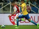 Дерлис Гонсалес в матче с Бразилией