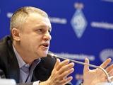 Игорь Суркис: «Динамовскую позицию по ЧСНГ я выразил твердо»