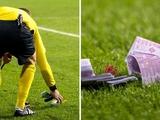 УЕФА открыл дело против «Баварии» за бросание на поле фальшивых денег