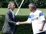 Моратти встретился в Мадриде с Моуринью