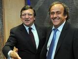 Мишель Платини встретился с председателем Еврокомиссии