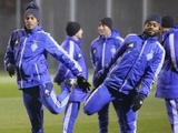 «Динамо» провело последнюю в этом году домашнюю тренировку