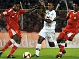 Футболисты колумбийской команды подрались друг с другом во время матча
