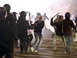 Во время празднования 111-летия «Лацио» произошли столкновения болельщиков с полицией