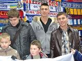 Динамовцы принимают гостей из ОХМАТДЕТа (ФОТО)