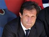 Массимилиано Аллегри: «Милан» впервые проиграл незаслуженно»