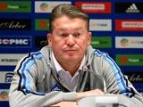 «Динамо» — «Ильичевец» — 1:0. Послематчевая пресс-конференция
