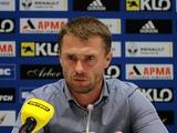 «Динамо» – «Днепр» – 1:0. Послематчевая пресс-конференция
