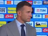 Андрей Шевченко: «От своего стиля игры мы отходить не будем»