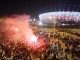 Польские фанаты протестуют против отмены матча за Суперкубок