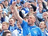 Фанаты «Зенита» забросали креслами обычных болельщиков