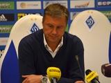 «Динамо» — «Верес» — 0:0. Послематчевая пресс-конференция