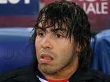 Тевес провел тренировку в «Манчестер Сити»