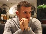 Андрей ШЕВЧЕНКО: «Мы с Ребровым близкие друзья, но никогда не вмешиваемся в профессиональную деятельность друг друга»