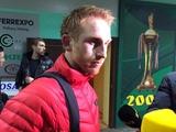 Александр Кобахидзе: «В матче с «Динамо» могли как выиграть, так и проиграть»