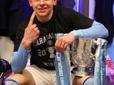 Зинченко похвастался первым трофеем в своей карьере (ФОТО)