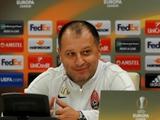 Юрий Вернидуб: «У меня, как и у любого тренера, есть варианты игры и в атакующий агрессивный футбол»