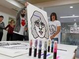 Игроки Барселоны раскрасили свои портреты (ФОТО)