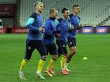 ФОТОрепортаж: тренировка сборной Украины в Турции (26 фото)