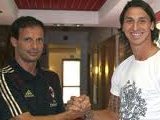 Массимилиано Аллегри: «Думаю, Ибрагимович останется в «Милане»