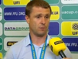 Сергей РЕБРОВ: «Главное, что ребята сейчас почувствовали игру»
