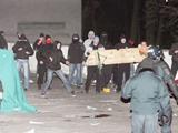 Польские болельщики устроили погром в Каунасе